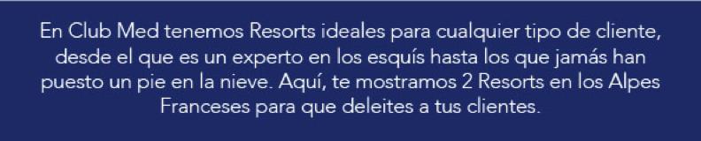 Club Med Promociones 2